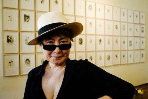 Yoko Ono, portrait in Venice